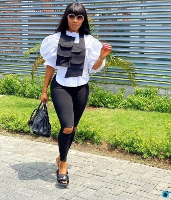 I dumped Ike months ago – Mercy Eke finally speaks, confirms she's already married to someone else
